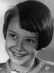 Audrey Hepburn da bambina