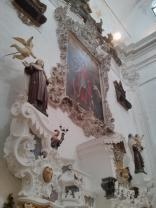 Ostuni, Chiesa delle Monacelle. altare Maggiore.