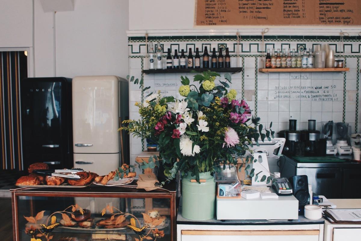 Nanna's, il café anni '70 di Londra