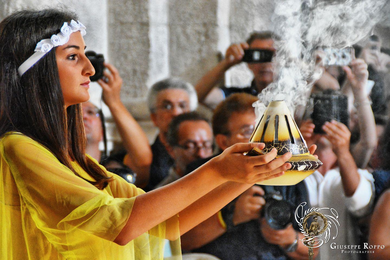 La dea dell'estate - Cattedrale di San Sabino 2018- Giuseppe Roffo